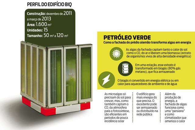 algas para gerar eletricidade