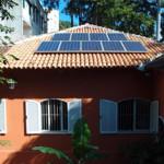 Primeira casa carioca com microgeração de energia solar conectada à rede.
