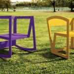 Cadeira feita com PET ,de designers brasileiros, é uma das finalistas de concurso em NY