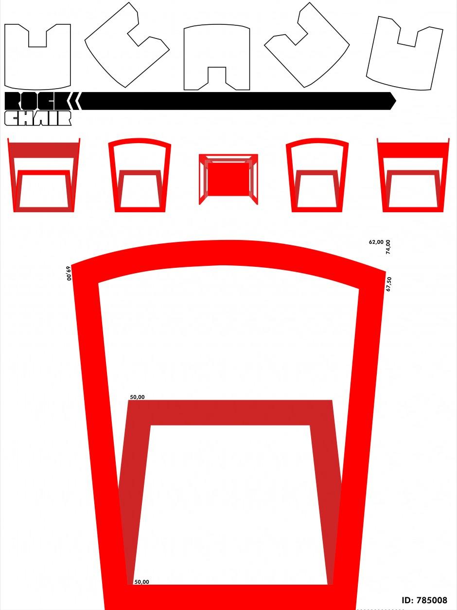 """U Rock"""" Chair - uma cadeira feita com PET s reciclados"""
