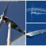 Turbina Eólica por Renzo Piano inspirada numa libélula