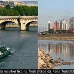 Despoluição do Rio Tietê será inspirado no Rio Sena