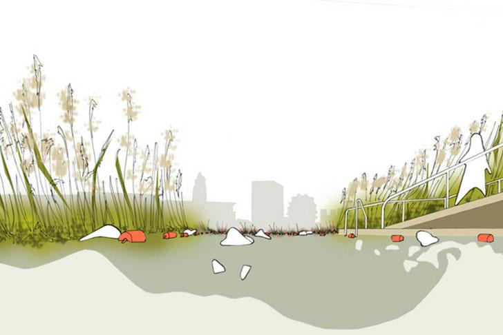 Piscina ecológica em londres