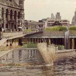 Uma Piscina Ecológica para desfrutar da vista do rio Tamisa, em Londres.