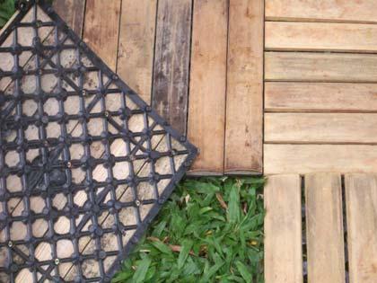 Deck modular de Bambu