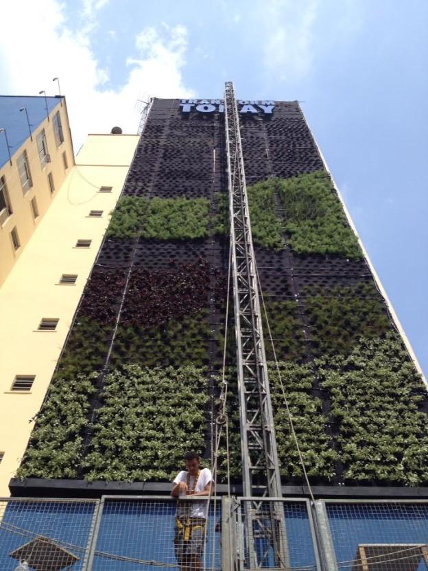 movimento 90° - jardim vertical