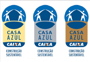 Selos para Construção Sustentável - Casa azul