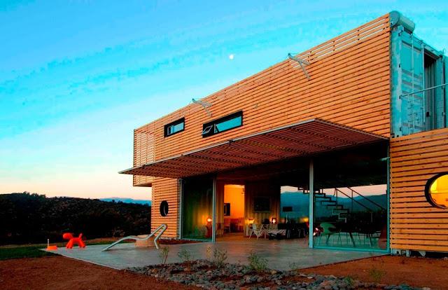 Casa manifesto cont ineres materiais reciclados sustentarqui - Casa container espana ...
