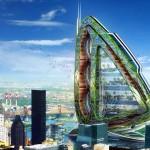 Dragonfly – projeto conceito de fazenda vertical em NY