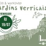 Curso de Jardins Verticais – Movimento 90°