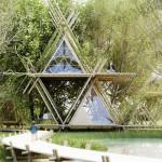 Projeto em bambu para um concurso de ideias sustentáveis.