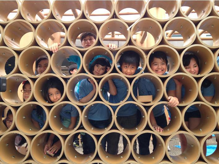 Shigeru Ban usa papelão no Pavilhao de Tokyo