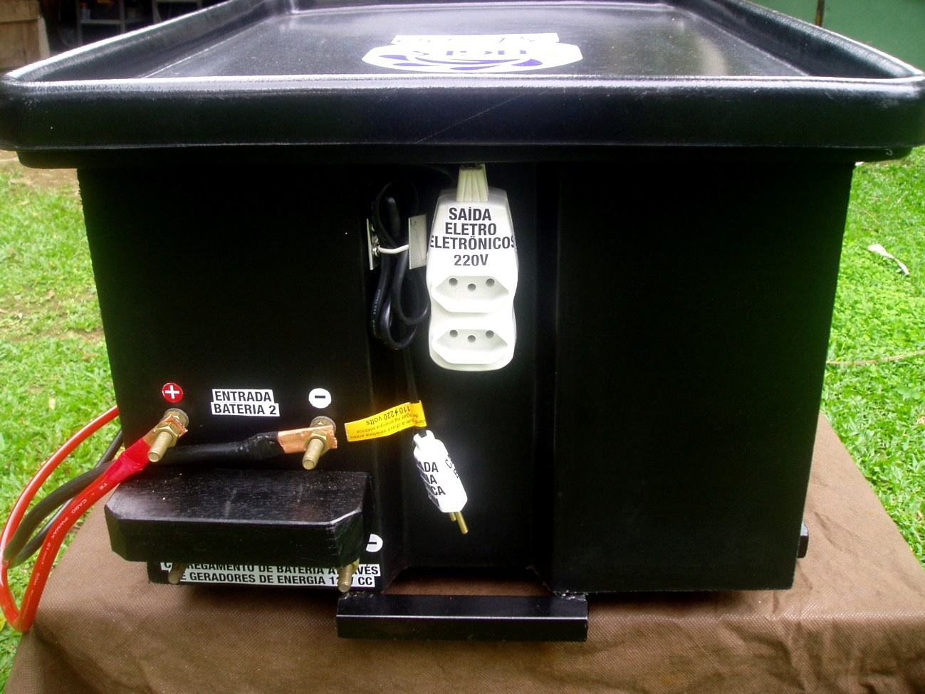 de Energia Sustentável Caixa d'água vira miniusina de energia #709C2F 1299x975