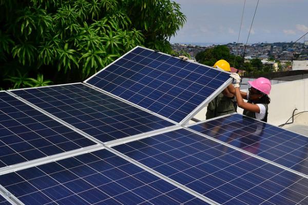 sistema fotovoltaico conectado a rede Greenpeace