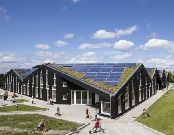 Arquitetura Sustent 225 Vel Em Escola Prim 225 Ria Na Dinamarca