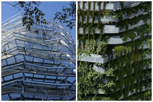 jardim vertical barcelona