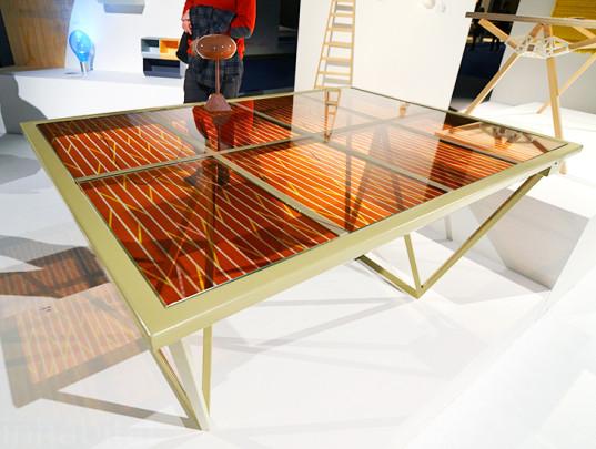 peças de ecodesign com painel solar