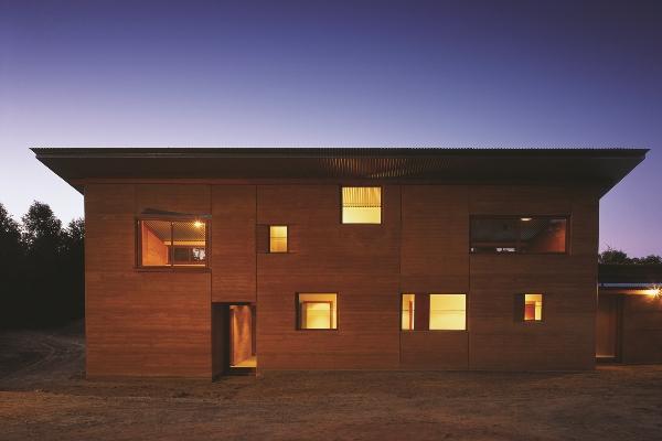 casa de terra Australia