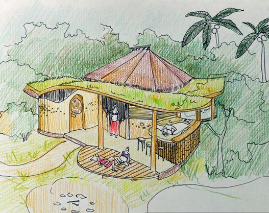 Projeto ecológico na Bahia