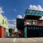 Container City um local feito com reciclados