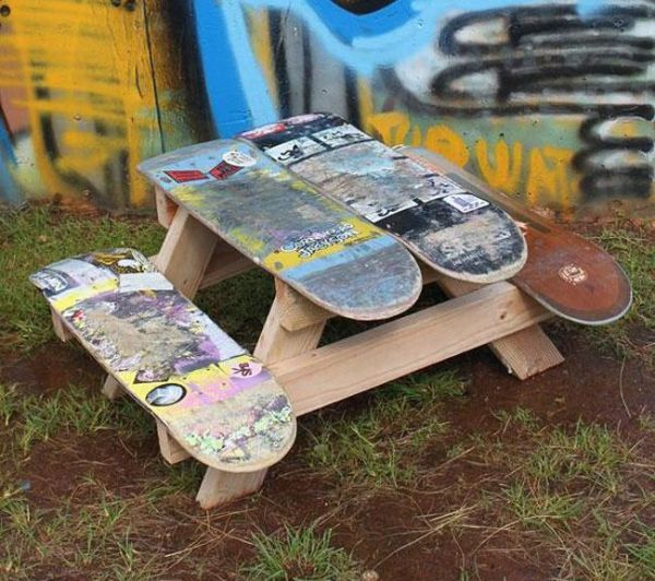 Ideias Criativas com skate