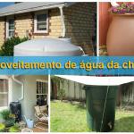 Aproveitamento de água da chuva: para uso não potável