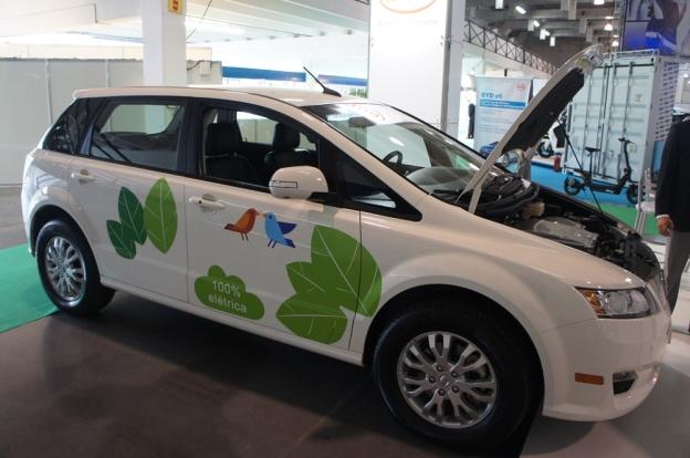 sistema de compartilhamento de carros elétricos