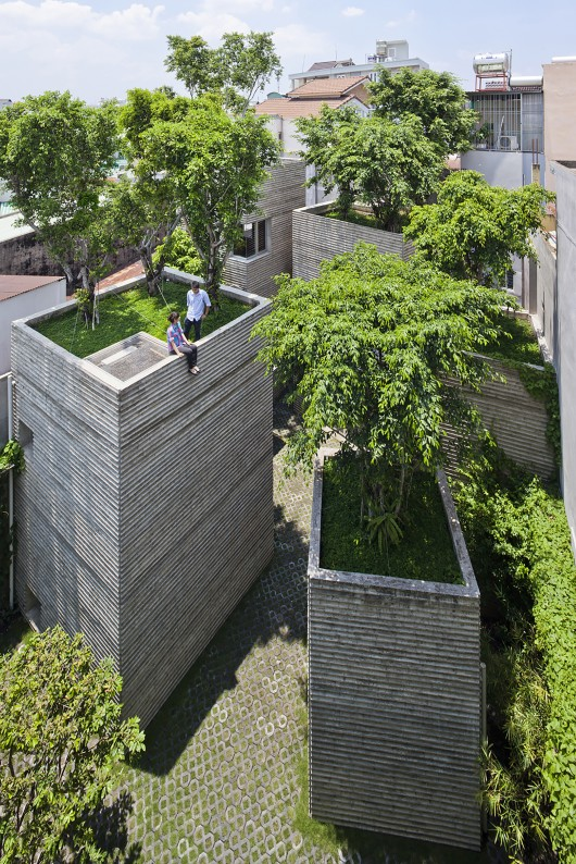 Casa para árvores - house-for-trees-vo-trong-nghia-architects