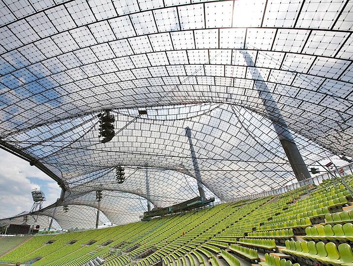 Frei Otto Parque Olímpico de Munique