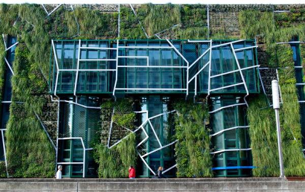 fachadas eficientes - fachadas verdes