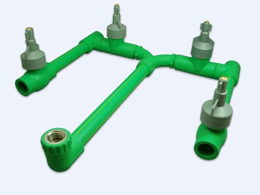 tubos e conexões em PP-R