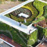 Casa Vallarta: telhado e paredes verdes no México