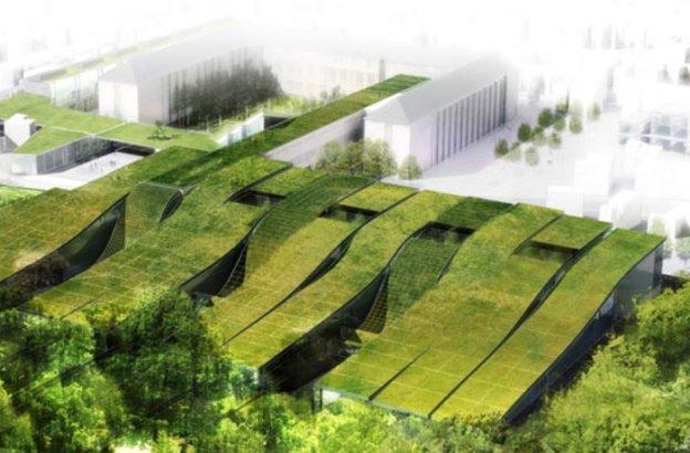 lei de telhados verdes na frança