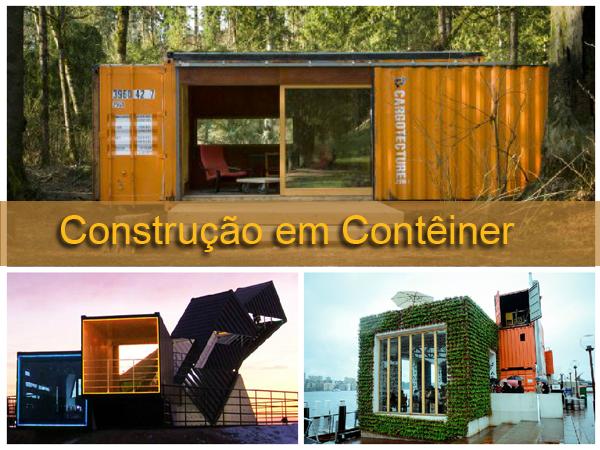 construção em container