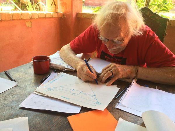 Johan Van Lengen - autor do Manual do Arquiteto Descalço