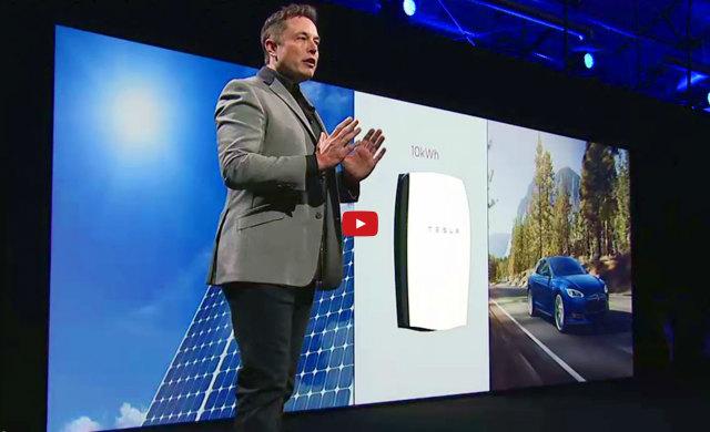 Tesla bateria inovadora