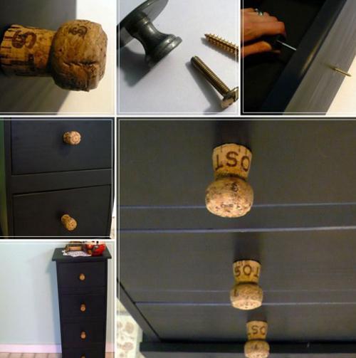 Ручку для шкафа своими руками
