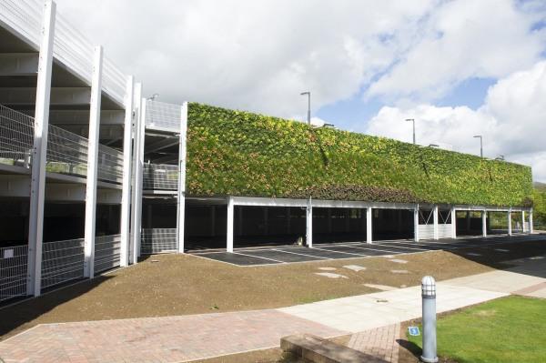 Maior jardim vertical da europa