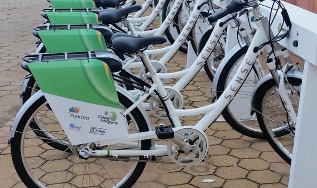 compartilhamento de bicicletas elétricas do Brasil