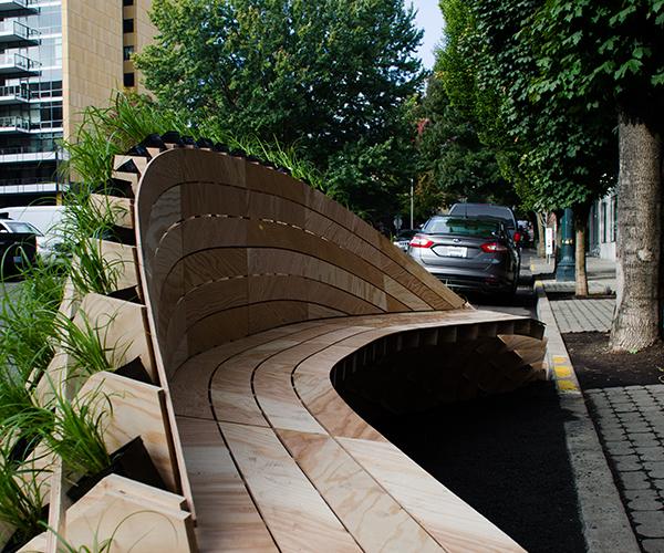 mobiliário urbano ecológico