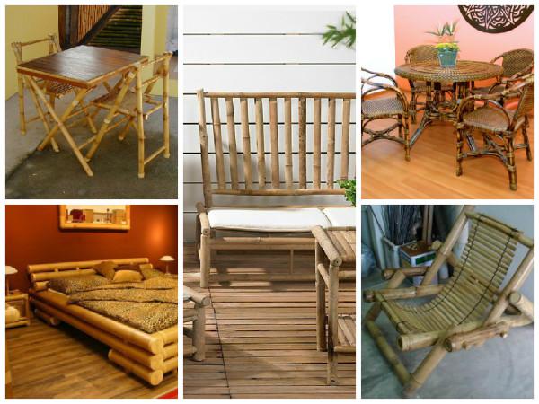 Móvel Bambu - ideias sustentáveis para usar o bambu