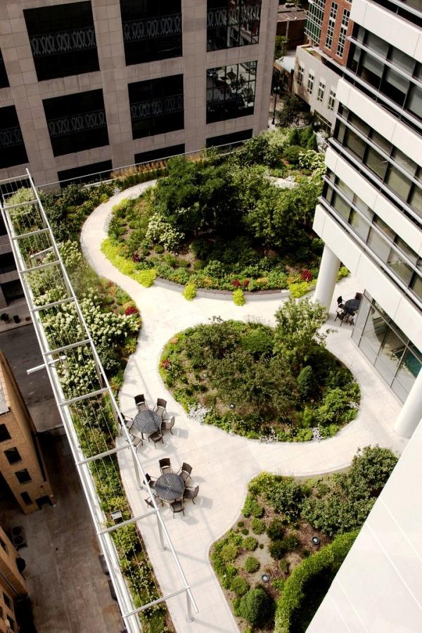 6 Exemplos De Telhados Verdes Em Chicago Sustentarqui