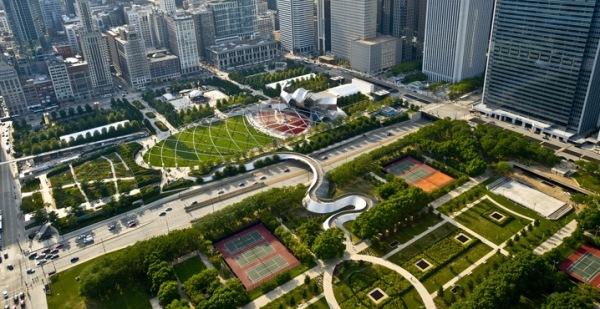 telhados verdes em chicago