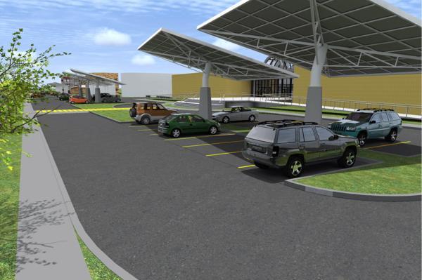 estacionamento solar UFRJ