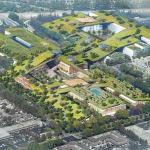 O maior telhado verde do mundo no coração do Vale do Silício