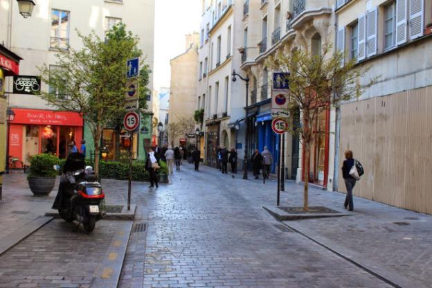 Caminhar em Paris é uma delícia