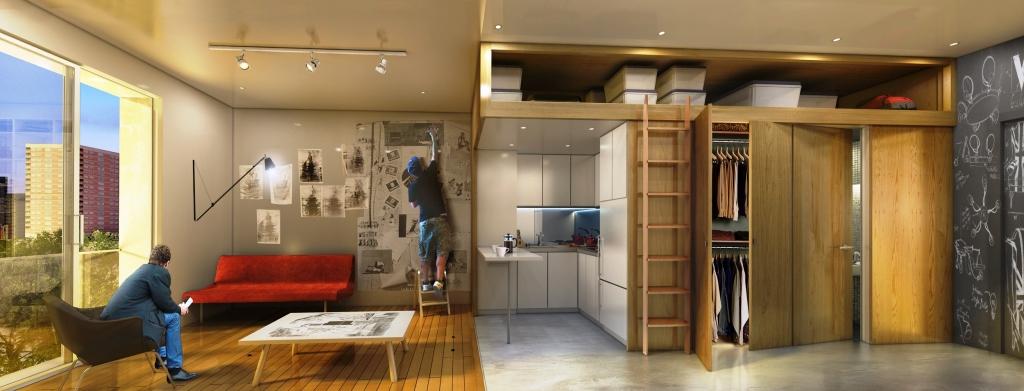 Resultado de imagem para micro apartamentos