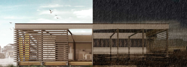projeto vencedor do Solar Decathlon 2015 - SURE House