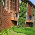 Arquitetura sustentável e alta tecnologia combinadas