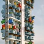 Containers para reurbanização de uma favela